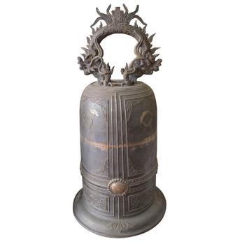 Chuông chùa, được làm từ đồng