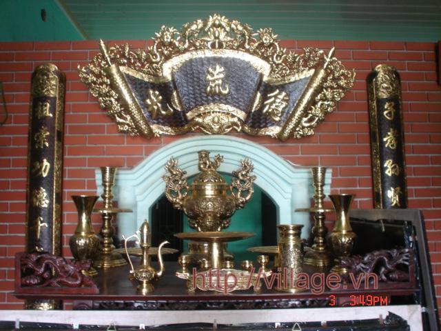 Bộ thờ kiểu hoàng gia