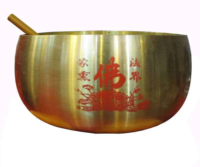 Chuông Bát, được đúc từ đồng vàng nguyên chất