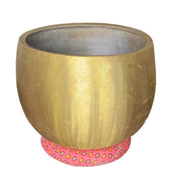 Bát Chuông đồng vàng, được đúc từ đồng nguyên chất