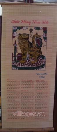Tờ lịch Đông Hồ xuân canh dần