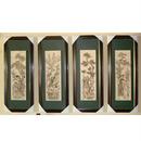 Bộ tranh khắc gỗ tứ quý bốn mùa