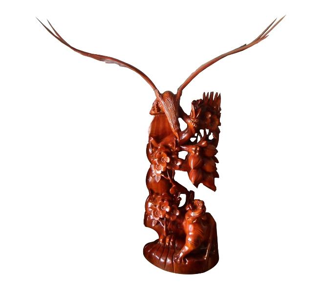 Tượng anh hùng tương ngộ 2, trang trí phong thủy