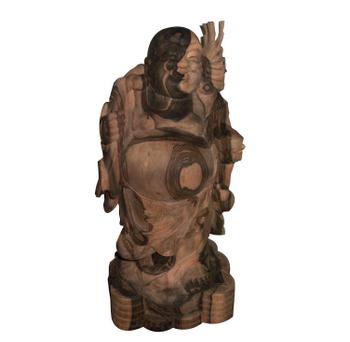 Di lạc gỗ mun, trang trí phong thủy