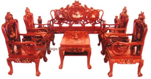 Bộ bàn ghế Quốc Đào