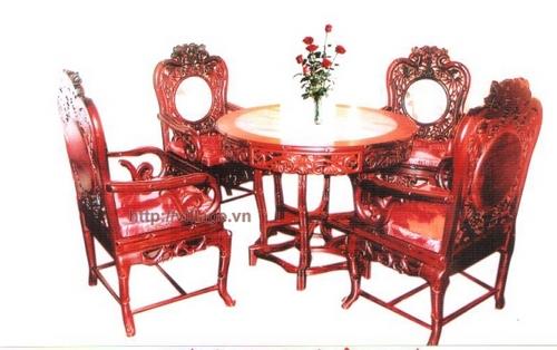 Bộ bàn bốn ghế phòng ăn