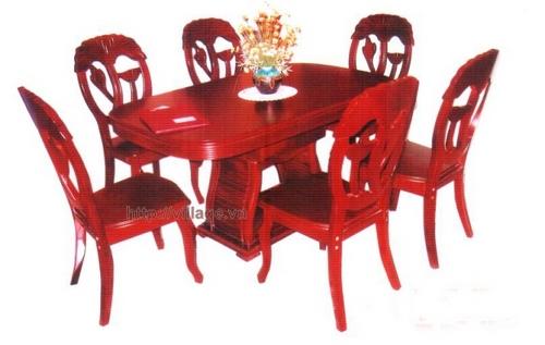 Bộ bàn ghế phòng ăn Đồng Kỵ