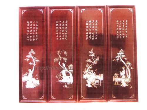 Bộ tranh gỗ tố nữ