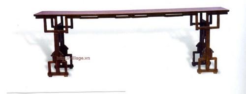 Đôn dài gỗ gụ