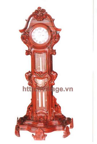 Đồng hồ đứng gỗ gụ