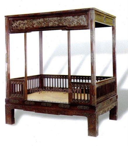 Giường ngủ chạm thủ công đẹp