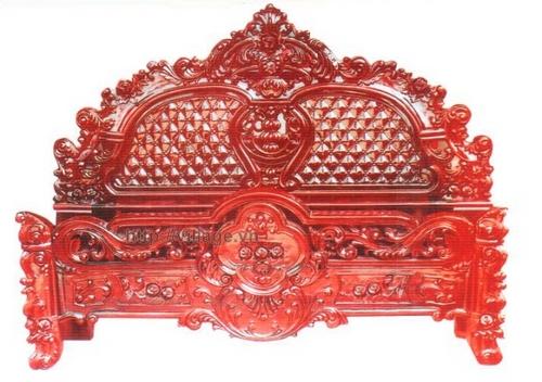 Giường hồng nhện gỗ Hương