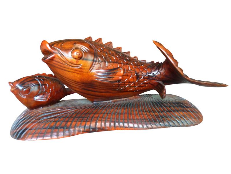 Tượng cá chép vàng, trang trí phong thủy