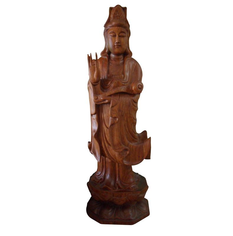 Tượng phật bà quan âm, tượng trang trí phong thủy