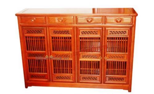 Tủ để giầy gỗ Hương