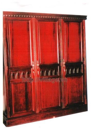Tủ quần áo lớn gỗ Gụ