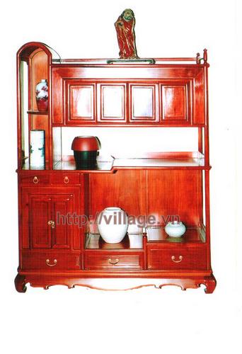 Tủ rượu gỗ đơn giản