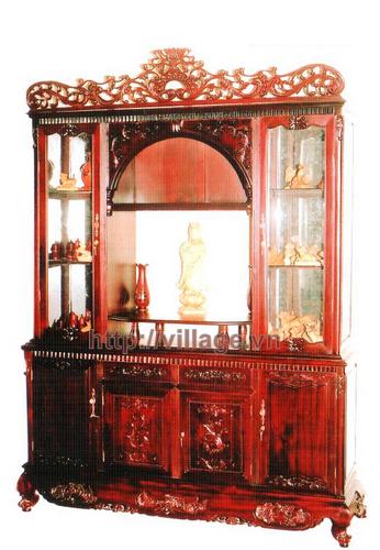 Tủ rượu đồ gỗ Gụ
