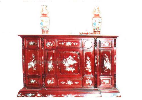Ban thờ gỗ Hương khảm trai