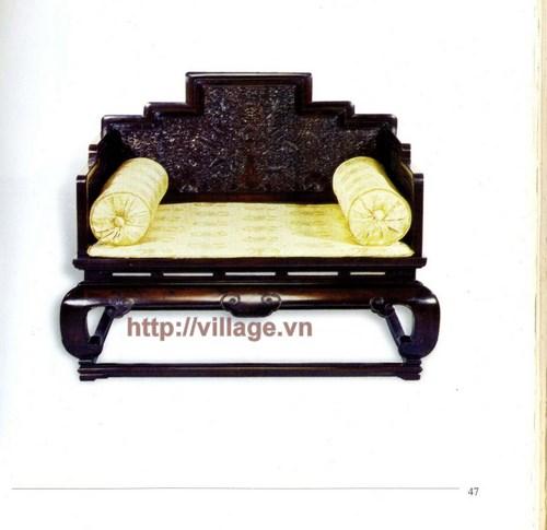 Salon chất liệu gỗ Hương