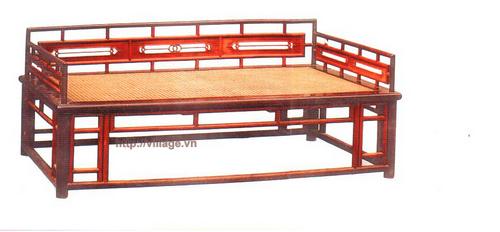 Salon chất liệu gỗ gụ