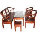 Đồ gỗ đồng kỵ: bộ bàn ghế phòng khách đơn giản