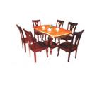 Đồ gỗ đồng kỵ: bộ bàn ăn sang trọng