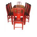 Đồ gỗ đồng kỵ: bộ bàn ăn cao cấp