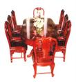 Đồ gỗ đồng kỵ: bộ bàn ăn quý tộc