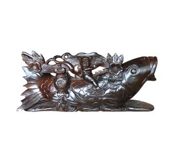 Cá chép Như Ý, trang trí phong thủy