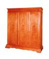 Tủ quần áo ba ngăn gỗ Hương