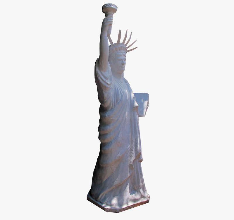 Tượng Nữ Thần Tự Do, nghệ nhân Vũ Văn Bảy