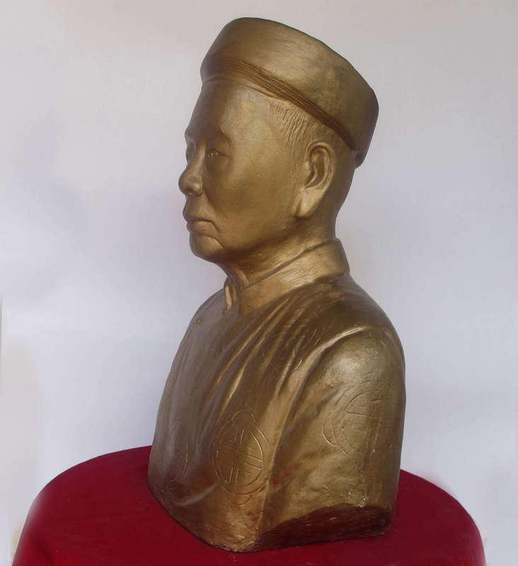 Tượng chân dung Ông, nghệ nhân Vũ Văn Bảy
