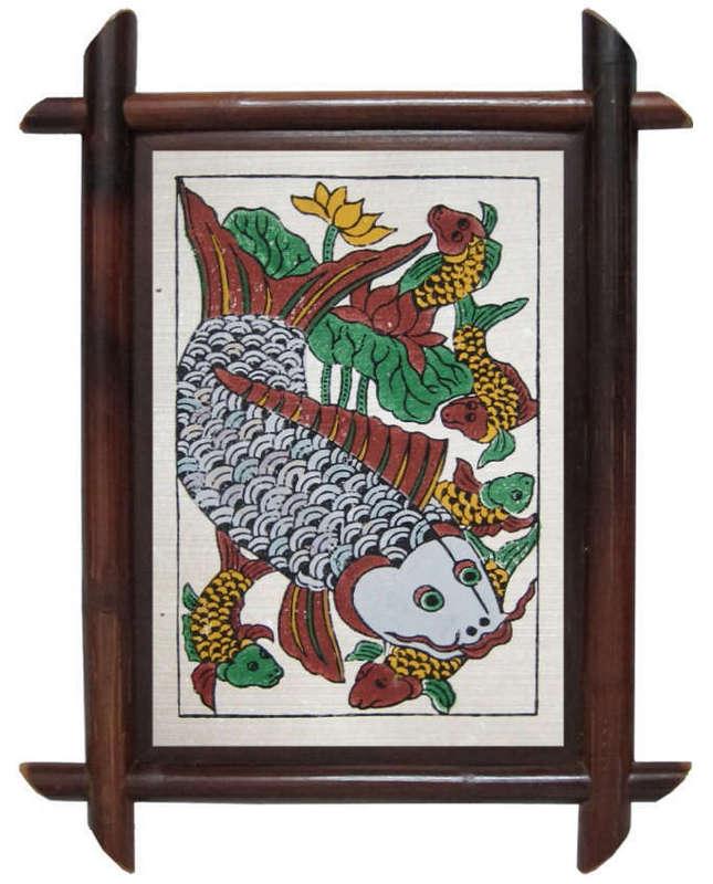 Tranh Cá đàn, tranh dân gian Đông Hồ