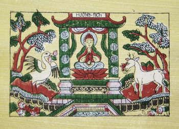 Tranh chùa Hương, tranh dân gian Đông Hồ