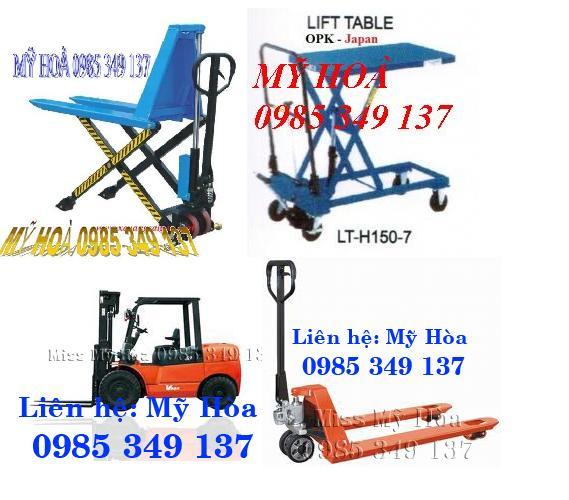 Xe nâng tay 2. 5 tấn, xe nâng tay 2500kg, xe nâng tay thấp LH:0985 349 137 Hòa