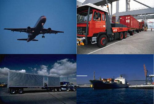 Giao nhận vận tải - các hình thức vận chuyển