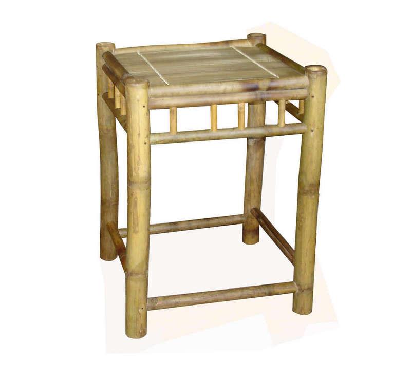 Bộ ghế đôi, màu vàng tre ngà, tre Xuân Lai