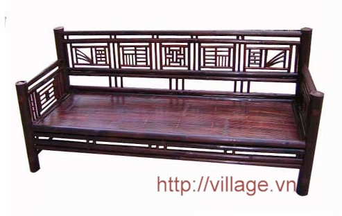 Sofa dài tre hun Xuân Lai