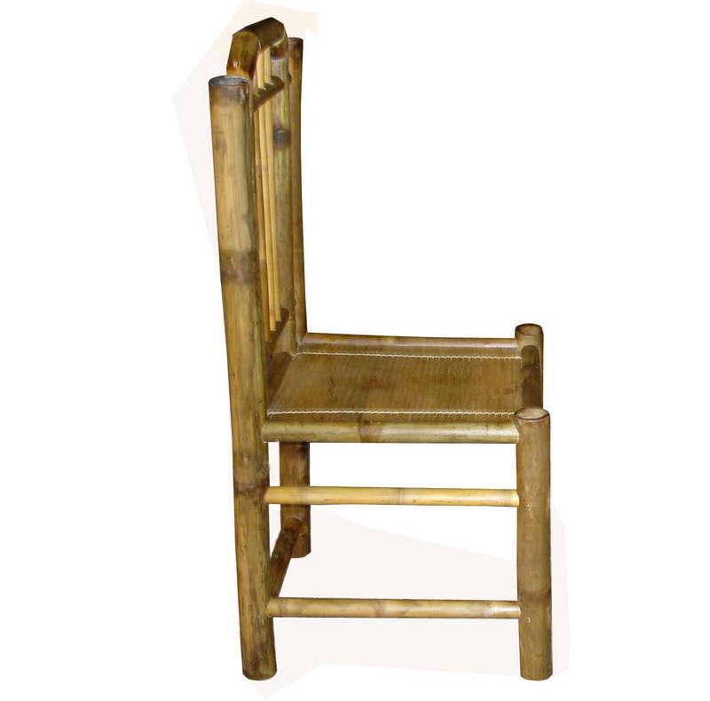 Bộ bàn ghế vai dựa, màu vàng tre Ngà