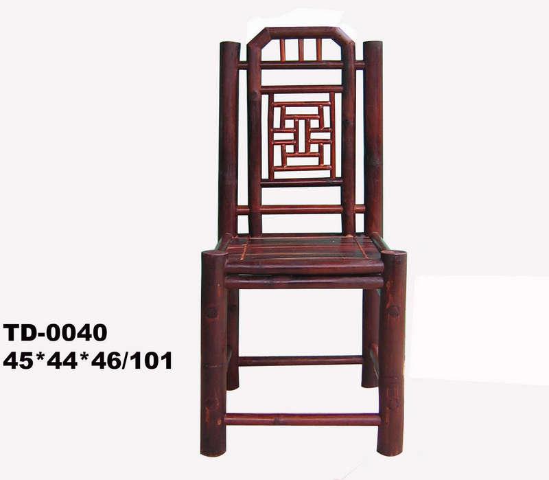 Ghế chữ Thọ, màu cánh dán, tre Xuân Lai