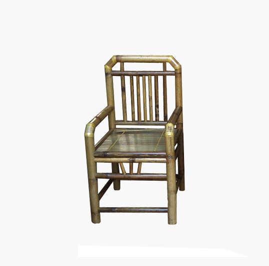Bộ bàn ghế vai vuông, màu vàng tre ngà, tre Xuân Lai