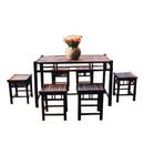 Bộ bàn ghế bằng tre