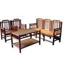 Bộ bàn ghế tre dùng trong phòng khách
