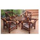 Bộ bàn ghế trà hương quê bằng tre