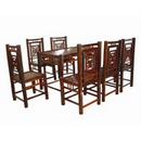 Bộ bàn ghế bằng tre Xuân Lai