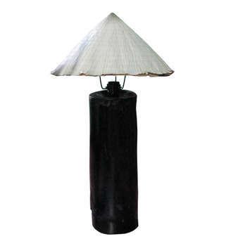 Đèn tre phong cách cổ điển - làng nghề mây tre đan Xuân Lai